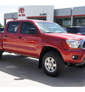 toyota tacoma 2012 red prerunner v6 6 cylinders automatic 78232