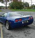 chevrolet corvette 2003 blue coupe z06 hardtop gasoline v8 rear wheel drive manual 17972
