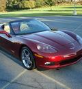 chevrolet corvette 2007 burgundy convertable 3lt gasoline v8 rear wheel drive automatic 17972