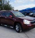 chevrolet equinox 2009 dk  red suv ltz gasoline 6 cylinders front wheel drive automatic 76206