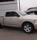 dodge ram 1500 2010 gray pickup truck big horn gasoline 8 cylinders 2 wheel drive automatic 76011
