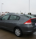 honda insight 2011 dk  gray hatchback lx hybrid 4 cylinders front wheel drive cont  variable trans  76210
