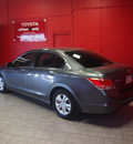 honda accord 2010 dk  gray sedan lx p gasoline 4 cylinders front wheel drive automatic 76116