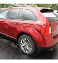 ford edge 2013 ruby red met suv sel gasoline 6 cylinders all whee drive 6 speed auto 6f 07724