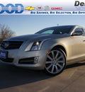 cadillac ats 2013 beige sedan 2 0l premium gasoline 4 cylinders rear wheel drive not specified 76206