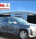 gmc terrain 2010 dk  gray suv slt gasoline 6 cylinders all whee drive automatic 55124