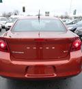 dodge avenger 2012 orange sedan sxt gasoline 4 cylinders front wheel drive automatic 60443