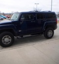 hummer h3 2009 blue suv gasoline 5 cylinders 4 wheel drive manual 78233