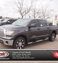 toyota tundra 2013 gray grade flex fuel 8 cylinders 4 wheel drive automatic 76116