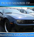 chevrolet camaro 2010 blue coupe ls gasoline 6 cylinders rear wheel drive automatic 13350