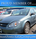 chevrolet cobalt 2010 blue sedan ls gasoline 4 cylinders front wheel drive automatic 13350