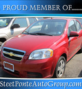 chevrolet aveo 2011 red sedan gasoline 4 cylinders front wheel drive automatic 13350