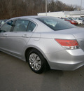 honda accord 2010 silver sedan lx gasoline 4 cylinders front wheel drive automatic 13502