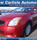 nissan sentra 2011 red sedan gasoline 4 cylinders front wheel drive automatic 45344