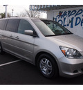 honda odyssey 2007 silver van ex l gasoline 6 cylinders front wheel drive automatic 07701