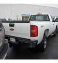 chevrolet silverado 2500hd 2011 white work truck gasoline 8 cylinders 4 wheel drive automatic 07712