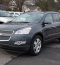 chevrolet traverse 2012 gray ltz gasoline 6 cylinders all whee drive automatic 27591