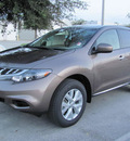 nissan murano 2012 tinted bronze suv s gasoline 6 cylinders front wheel drive automatic 33884