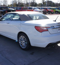 chrysler 200 convertible 2013 white flex fuel 6 cylinders front wheel drive automatic 76210