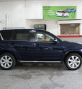 mitsubishi outlander 2013 dk  blue gt gasoline 6 cylinders all whee drive automatic 44060