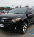 ford edge 2012 black suv sport gasoline 6 cylinders front wheel drive shiftable automatic 76210