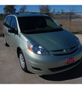 toyota sienna 2009 lt  green van le 7 passenger gasoline 6 cylinders front wheel drive automatic 77338