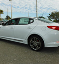 kia optima 2013 white sedan sx w sunroof w navigation gasoline 4 cylinders front wheel drive automatic 32901