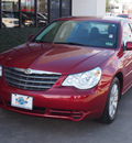 chrysler sebring 2010 red sedan limited gasoline 4 cylinders front wheel drive automatic 77338