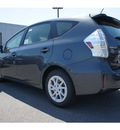 toyota prius v 2012 gray wagon three hybrid 4 cylinders front wheel drive cont  variable trans  46219