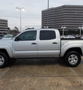 toyota tacoma 2010 silver prerunner v6 gasoline 6 cylinders 2 wheel drive automatic 77074