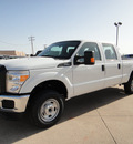 ford f 250 super duty 2012 white xl flex fuel 8 cylinders 4 wheel drive automatic 73703
