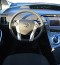 toyota prius 2012 silver hatchback three hybrid 4 cylinders front wheel drive cont  variable trans  76049