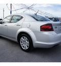 dodge avenger 2011 silver sedan express gasoline 4 cylinders front wheel drive automatic 78523