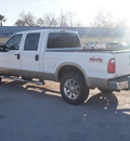 ford f 250 super duty 2008 white lariat gasoline 8 cylinders 4 wheel drive automatic with overdrive 77575