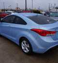hyundai elantra coupe 2013 blue sky sedan gs gasoline 4 cylinders front wheel drive automatic 76087