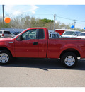 ford f 150 2008 red pickup truck xl gasoline 6 cylinders 2 wheel drive automatic 78539