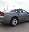 dodge charger 2012 dk  gray sedan se gasoline 6 cylinders rear wheel drive automatic 76011