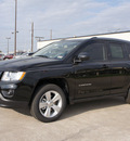 jeep compass 2012 black suv latitude gasoline 4 cylinders 2 wheel drive automatic 76011