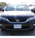 honda accord 2013 black coupe ex gasoline 4 cylinders front wheel drive cont  variable trans  77025