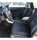 honda accord 2013 lt  gray sedan sport gasoline 4 cylinders front wheel drive cont  variable trans  77025