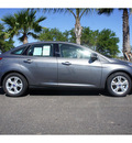 ford focus 2013 sterling gray metal sedan se flex fuel 4 cylinders front wheel drive not specified 78550