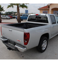 gmc canyon 2012 silver sle 1 gasoline 5 cylinders 2 wheel drive automatic 77039