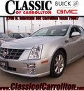 cadillac sts 2011 silver v6 luxury gasoline 6 cylinders shiftable automatic 75007