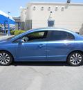 honda civic 2009 blue sedan ex gasoline 4 cylinders front wheel drive automatic 79936