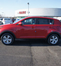 kia sportage 2013 dk  red lx gasoline 4 cylinders front wheel drive automatic 19153