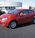 kia rio 2013 signal red hatchback lx gasoline 4 cylinders front wheel drive manual 19153