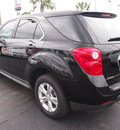 chevrolet equinox 2013 black suv ls gasoline 4 cylinders front wheel drive 6 speed automatic 77581