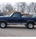 ford f 150 1995 blue pickup truck xl gasoline 6 cylinders rear wheel drive automatic 79065