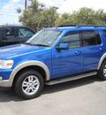 ford explorer 2010 blue suv eddie bauer gasoline 6 cylinders 4 wheel drive automatic 79925