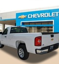 chevrolet silverado 1500 2012 white work truck flex fuel 8 cylinders 2 wheel drive 4 speed automatic 75067